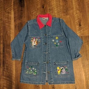 Vintage Pooh and friends Jean jacket